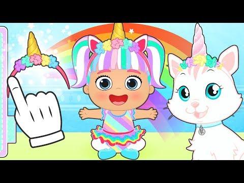 Xxx Mp4 BEBE LILY Y La Gatita KIRA Se Transforman En Unicornio 🦄 Dibujos Animados Educativos 3gp Sex