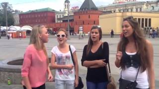 Russian girls sang very nicely