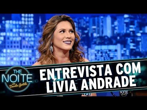 The Noite 09 09 15 Entrevista com Lívia Andrade