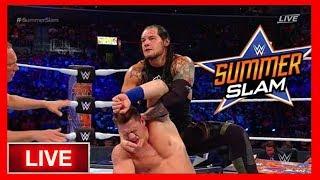 John Cena vs Baron Corbin Full Match | WWE Summerslam 2017