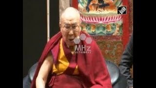 India News - Dalai Lama imparts life lessons to students in India