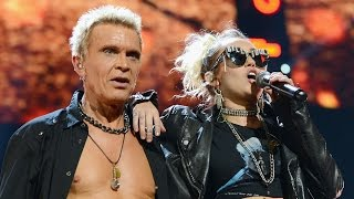 Miley Cyrus Joins Billy Idol For EPIC Performance at iHeartRadio Music Festival