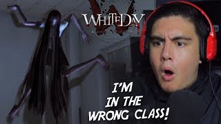 THIS GIRL STARTS DOING THIS IN CLASS..WHAT YOU DOIN?! | White Day [3] (Korean Horror Game)