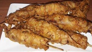 Crispy Chicken Stick/ Thread chicken/chicken sticks/ Ramadan special/English subtitle