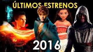 ULTIMOS ESTRENOS DE PELICULAS 2016   TRAILERS ESCENAS   DOCTOR STRANGE MISS PEREGRINE   WOW QUE PASA