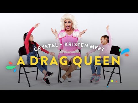 Xxx Mp4 Kids Meet A Drag Queen Crystal Kristen Kids Meet HiHo Kids 3gp Sex