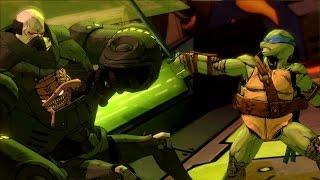 Teenage Mutant Ninja Turtles Mutants in Manhattan level 7 General Krang stage playthrough PS4
