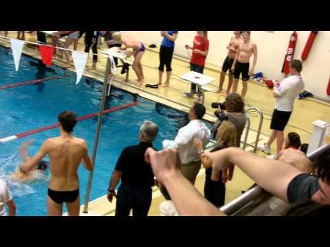 Pomperaug vs Brookfield Swim meet