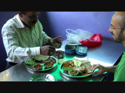Chief inspector shares wife's tiffin with me - India police desi dhaba - ओम शान्ति