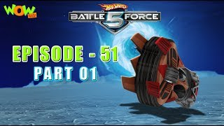 Motu Patlu presents Hot Wheels Battle Force 5 - Rumble in the Jungle - S2 E51.P1 - in Hindi