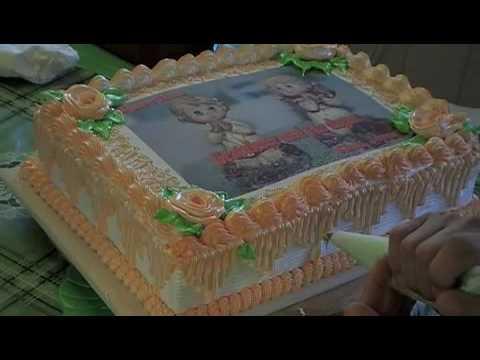 Birthday cake Ube Flavor