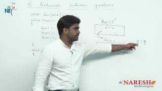 Storage Classes | C Technical Interview Questions and Answers | Mr. Srinivas