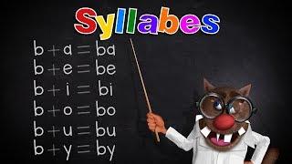 Foufou - Les Syllabes pour les enfants (Learn Syllables for kids) (Serie01) 4K