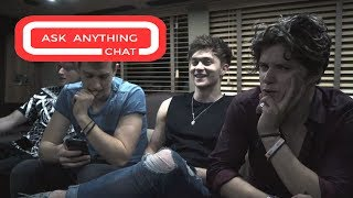 The Vamps Talk About James Dancing, Names For Their Kids & VIP Meet & Greets. Part 1