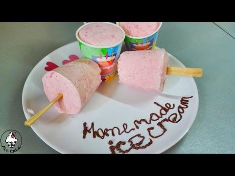 Как сделать простое домашнее мороженое