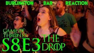 """Game Of Thrones // Burlington Bar Reactions // S8E3 """"THE DROP"""" Scene!!"""
