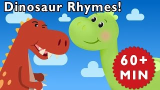Dinosaur Rhymes | Nursery Rhymes from Mother Goose Club!