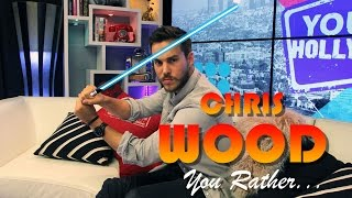 Chris Wood on Kissing Ian Somerhalder