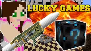 Minecraft: NUCLEAR EXPLOSIVE CHALLENGE GAMES - Lucky Block Mod - Modded Mini-Game