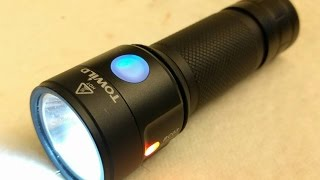 Super Cool Bike Light or Torch - TOWILD BC03 LED Flashlight Review