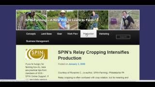 Crop Rotation Versus Relay Cropping