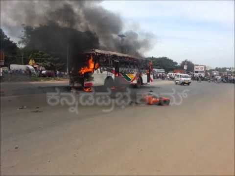 KR puram bus accident
