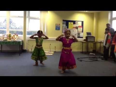 Rathisha's navarathri dance in Tamil school