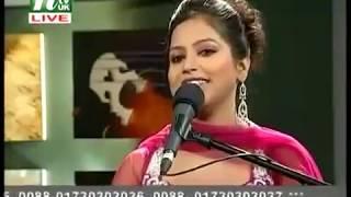Bondhu tumi koi বন্ধু তুমি কই (ntv uk live) Dina (Close up)