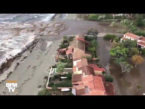 Xxx Mp4 Ces Images Montrent L Ampleur Des Inondations En Haute Corse 3gp Sex