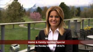 Hallmark Channel Home & Family Holiday Special - Premiere Promo