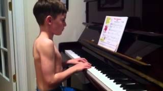 The ballet dancer piano by dylan roche