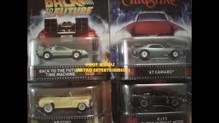 Unboxing: 4 Autos Hot Wheels Retro Entertainment