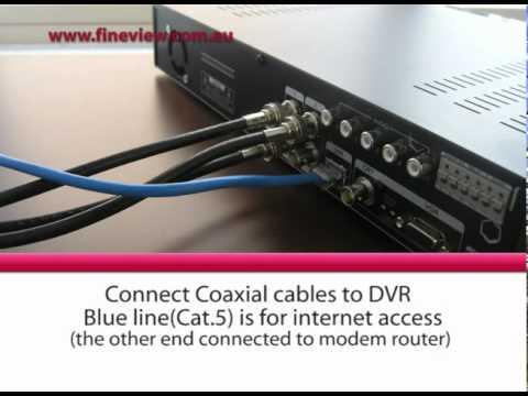 CCTV Security Camera system Installation Video