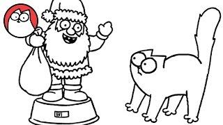 Simon's Cat - Christmas Presence (Part 1 & 2!)