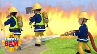 🚒 🔥 Fireman Sam  - Fireman Sam puts out the Fire - Best Rescues!  🚒 🔥