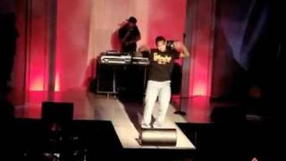Chris Brown Performing Teach Me How To Dougie / Old School Music
