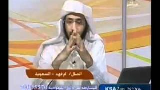 جني يكلم شيخ على الهواء مباشر في التلفزيون.mp4