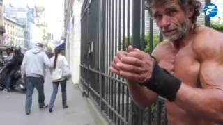 Este es el vagabundo con el mejor físico del mundo -11/12/2014