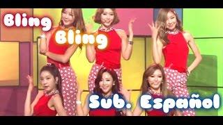[Sub. Español] Dal shabet - Bling Bling - Live (달샤벳) (블링블링)