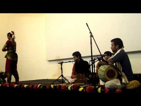 Bharathanatyam Gourangi Marzulo e Kirtananda Borrero