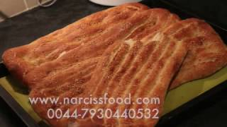 Naan Barbari  نان بربری بازاری با توضیح کامل