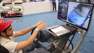 تجربة سريعة للعبة جي تي سبورت GT sport في معرض (يوم الاعبين 2016)