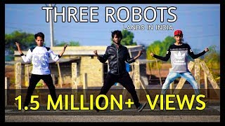 OMG! Three Robots Land in India | Popping Dance | By Versatile Dance Studio | Neemuch m.p