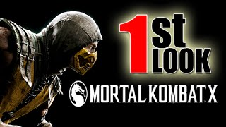 Mortal Kombat X - Mobile Fatalities are finally here! (1st Look iOS Gameplay)
