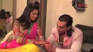 Happy anniversary to Karan and Jennifer Winget Grover