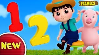 One Two Buckle My Shoe | Nursery Rhymes For Kids | Children Songs