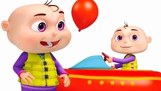 Five Little Babies Playing In Water Park | Nursery Rhymes & Kids Songs | Videogyan 3D Rhymes