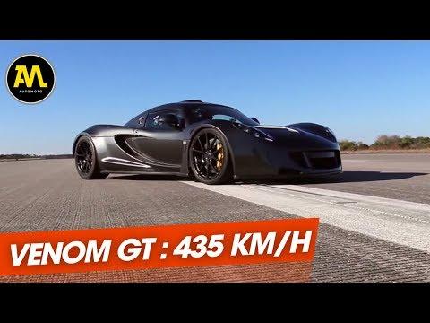 Hennessey Venom GT plus rapide que Bugatti