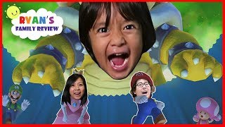 Mario Party 10 Family Fun Party Board Game! Let's play with Ryan's Family Review