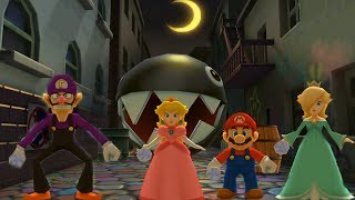 Mario Party: The Top 100 - Night Light Fright & Other Minigame Very Hard Difficulty| Cartoons Mee